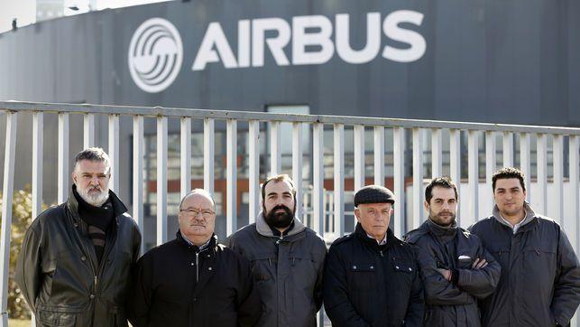 Seis de los ocho trabajadores de Airbus para los que la Fiscalia pide ocho años de carcel