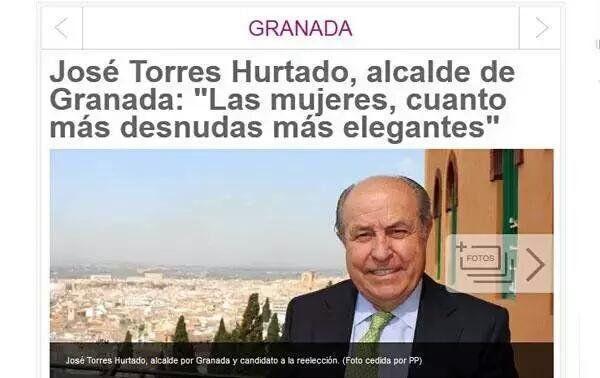 ESPAÑA: ¡¡A que esperan los jueces para ilegalizar al PP como organización criminal! --  La policía detiene al alcalde de Granada Jose Torres Hurtado del PP  por corrupción urbanística--  ¿Como es posible que el Jefe del Estado reciba en los proximos dias a &quot&#x3B;Marrano&quot&#x3B; rajoy -- como posible candidato a la Presidenca del Gobierno? Es el capo de la delincuencia organizada del PP -- Maldito sea
