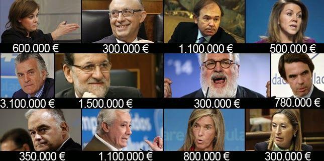 ESPAÑA: La gente de Ciudadanos no quiere Carteras en el posible goberno de  &quot&#x3B;Marrano&quot&#x3B; rajoy --  por tanto tampoco &quot&#x3B;carteristas&quot&#x3B; --  No tiene tertulieros-sicarios en el oligopolio -- Mediaset - Atresmedia --  Por tanto Ciudadanos no quiere ni un &quot&#x3B;paco maruhenda&quot&#x3B; -- ni una &quot&#x3B;elisa beni&quot&#x3B; -- ni un &quot&#x3B;carmelo encinas&quot&#x3B; etc. a sueldo de la puta casta mafiosa PP y Psoe --  Creo que la cosa está clara -- No queremos gentuza en las Instituciones --  Queremos votantes no &quot&#x3B;accionistas&quot&#x3B; de los partidos -- Si quisieramos botar lo hariamos sobre las tripas de los que nos han chupado la sangre durante 40 años --  &quot&#x3B;No hay otra&quot&#x3B; o se firma el Documento como está -- o no -- De medias tintas nada de nada -- El Psoe registra una comisión de investigación en el Congreso de los &quot&#x3B;Imputados&quot&#x3B;