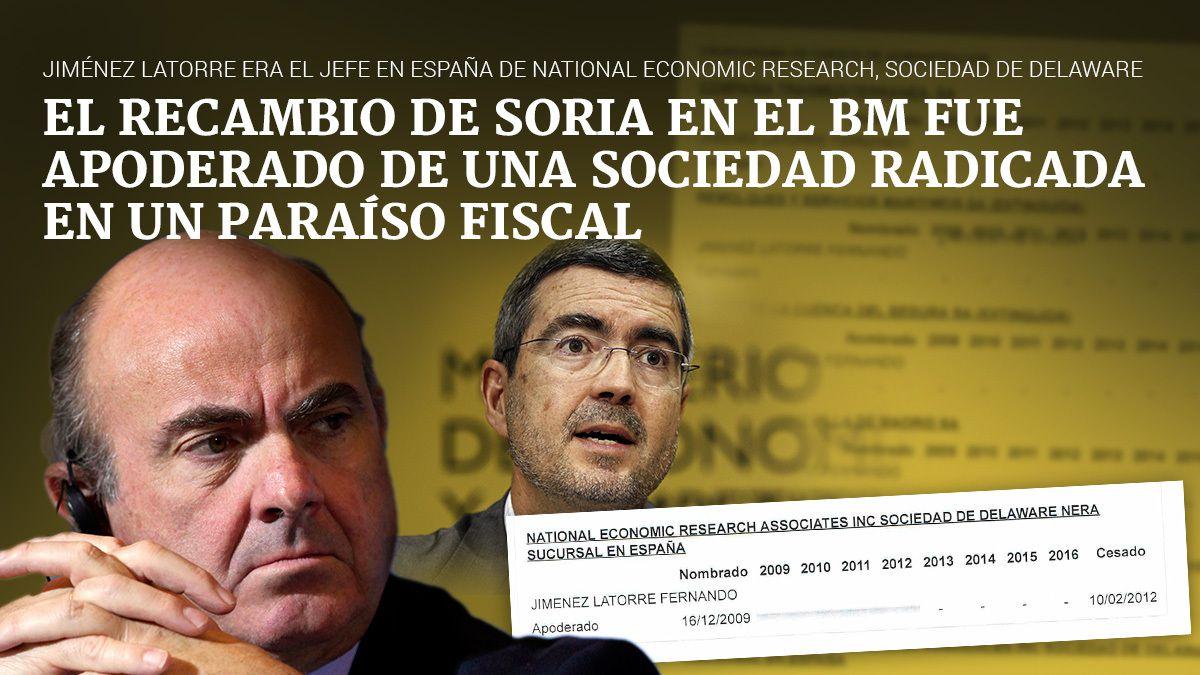 ESPAÑA: La firma 'offshore' del &quot&#x3B;golfo&quot&#x3B; Jiménez Latorre se llevó 7 millones de euros a Delaware mientras debía 1,4 a Hacienda -- El Consejo de Ministros S.A. sigue saqueando España en &quot&#x3B;funciones&quot&#x3B; -- Rita Barberá no quiere hacer caso al &quot&#x3B;faraón de Pontevedra y Santa Pola&quot&#x3B; -- &quot&#x3B;Eramos una famiglia&quot&#x3B; -- el Don -- &quot&#x3B;marrano&quot&#x3B; es el capo di capi -- yo obedecia ordenes -- dice rita El PP S.A. tiene secuestrada la Democracia