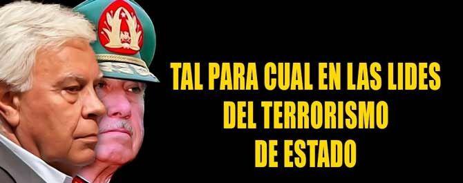 ESPAÑA: Mister X (felipe gonzalez) quiere &quot&#x3B;enterrar&quot&#x3B; en cal viva a &quot&#x3B;Perro&quot&#x3B; Sanchez --  El andaluz gonzalez quiere a toda costa que gobierne &quot&#x3B;Marrano&quot&#x3B; rajoy -- Le tiene miedo a un gobierno con Podemos -- Sabe que terminaria en la carcel junto a su cuñado Palomino --  A éstas horas Mister X (cabecilla de poderes facticos en &quot&#x3B;negro&quot&#x3B;), ha lanzado una OPA hostil contra &quot&#x3B;Perro&quot&#x3B; con la dimisión de 17 miembros de la Ejecutiva Federal --  para que pueda ser investido &quot&#x3B;Marrano&quot&#x3B; -- Una vez mas &quot&#x3B;terrorismo poltico&quot&#x3B; en España --   Éste puede ser el golpe de gracia a nuestra democracia --
