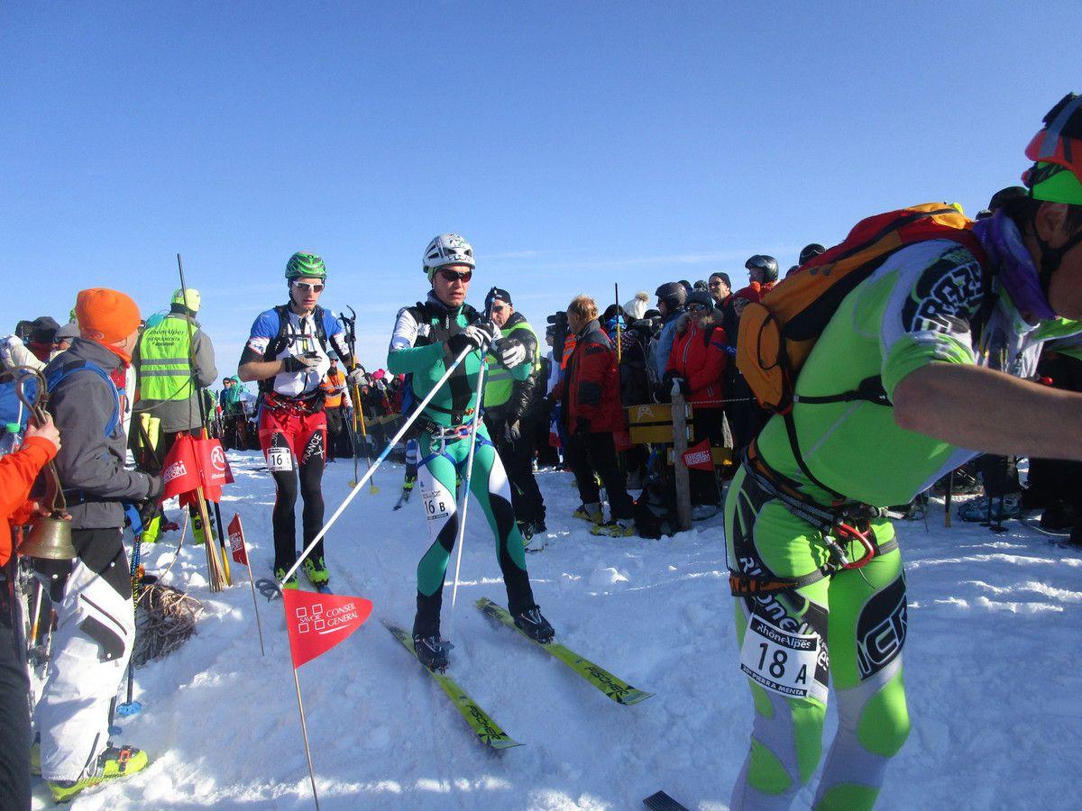 L'Adamello ski raid le 12 Avril