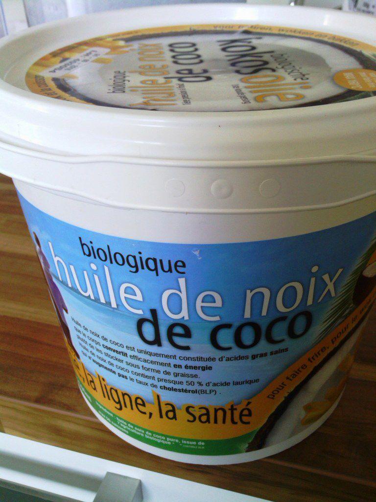 Mon huile de noix de coco bio (2kg)
