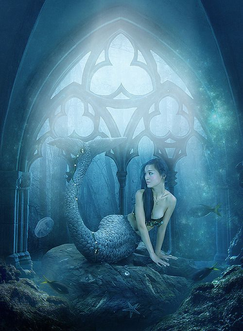 mermaid,sirene,fantasy woman,fantasy girl,fantasy art,magie,magic,féerie,fairy,fantastique