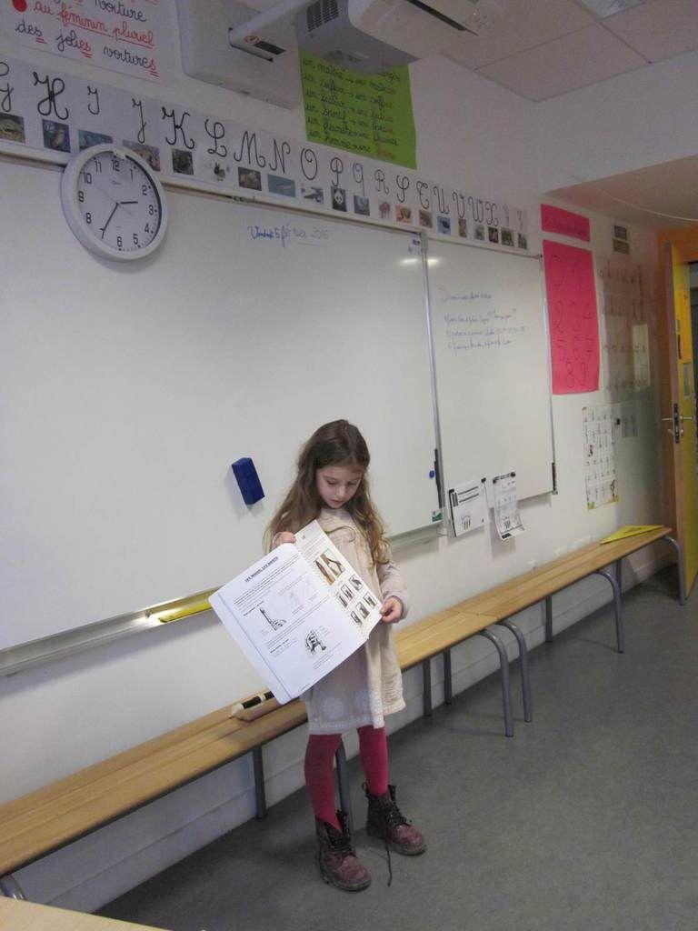 CE1 B : La flûte à bec