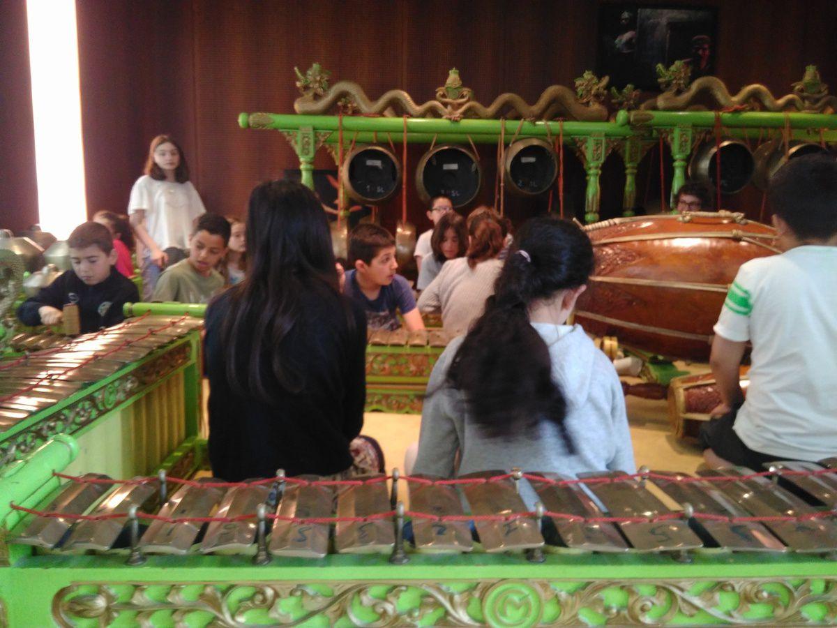 Atelier Gamelan à la Cité de la Musique