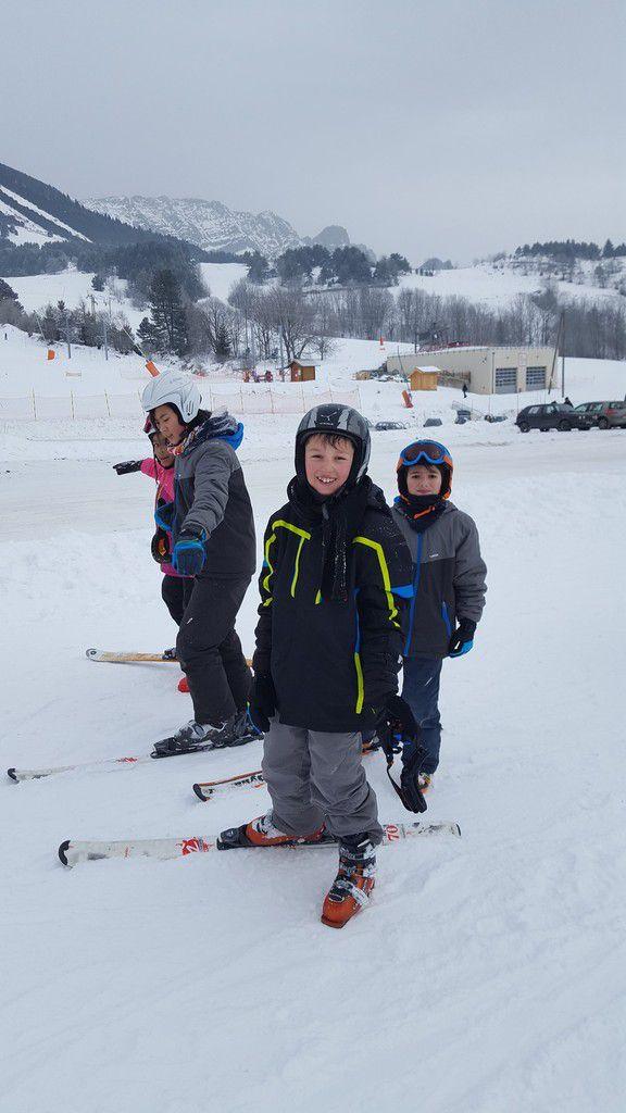 La troisième journée de ski