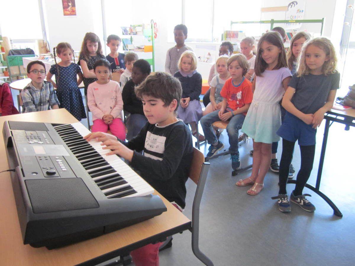 L'audition de piano des CE1 B