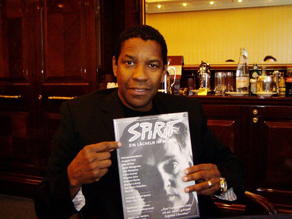 Denzel Washington reads THE SPIRIT, Foto: Marc Hairapetian