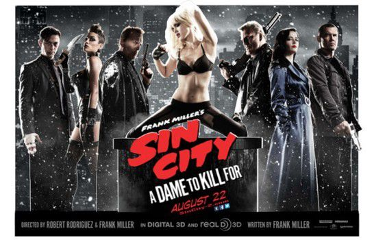 Sin City 2: A Dame To Kill For - Frank Miller &amp&#x3B; Robert Rodriguez