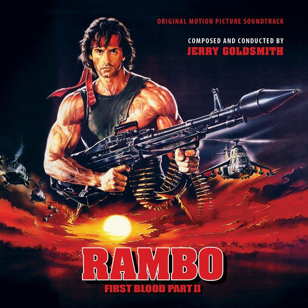 Rambo: First Blood Part II - Jerry Goldsmiths fulminanter Action-Score