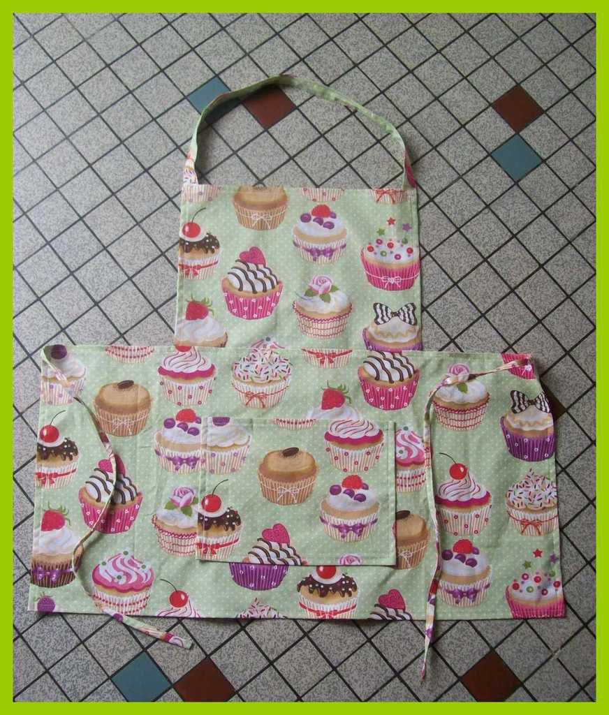 Mes tabliers de cuisine la couture de virginie for Tablier de cuisine couture