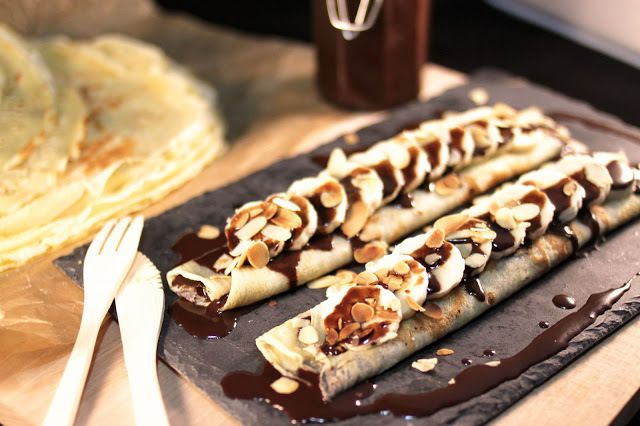 Idee repas facile recette crepe choco sur mo blog for Idee repas a partager