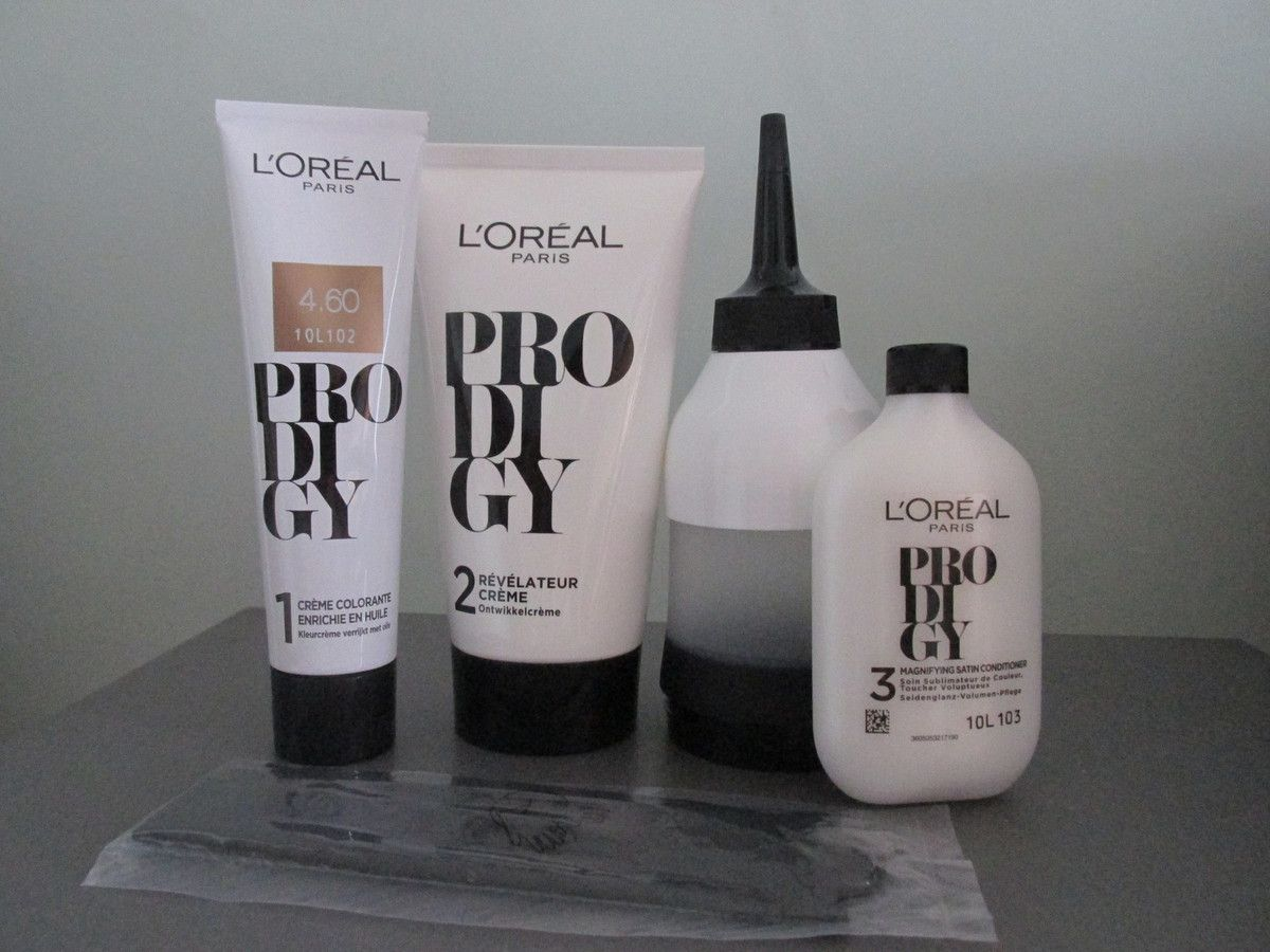 l oreal prodigy instructions