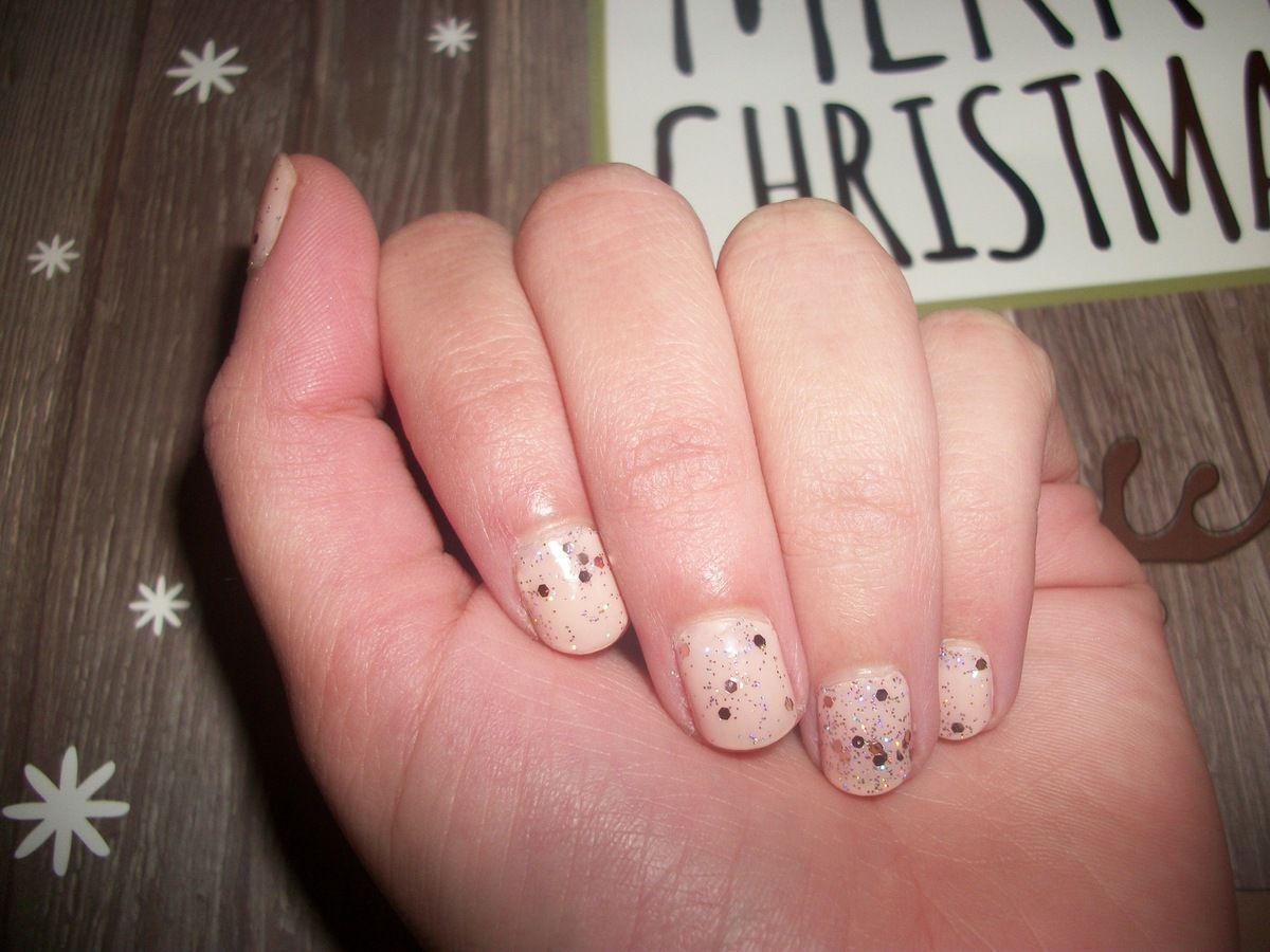 Manucure de Noël : Pastel Christmas