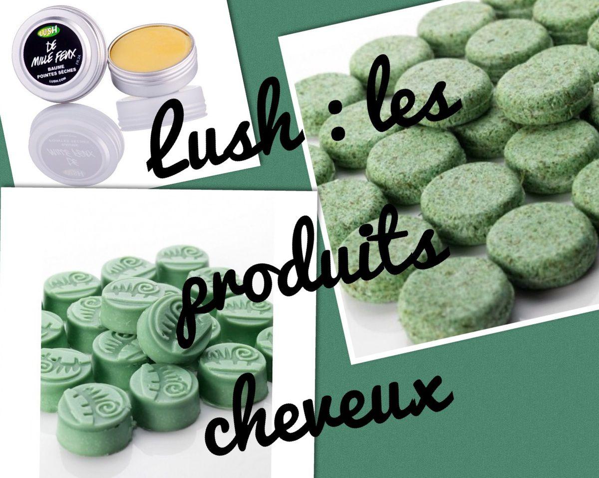 Close up : Trois produits pour les cheveux de chez Lush