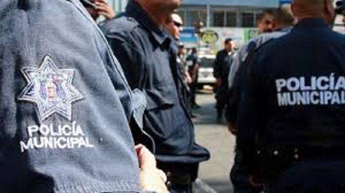 Policías universitarios en Hidalgo