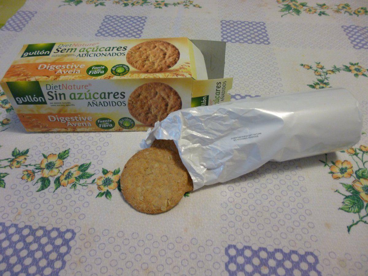 Gullon Biscotti Digestive Avena senza zuccheri aggiunti