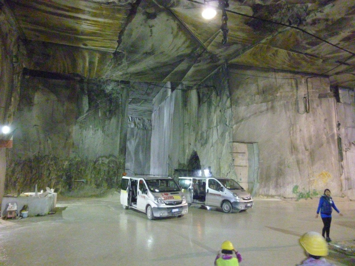 Cave di marmo tour carrara ms