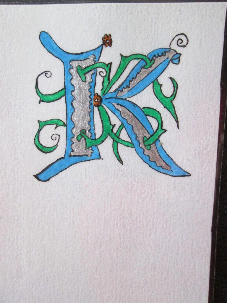 Marque-page K