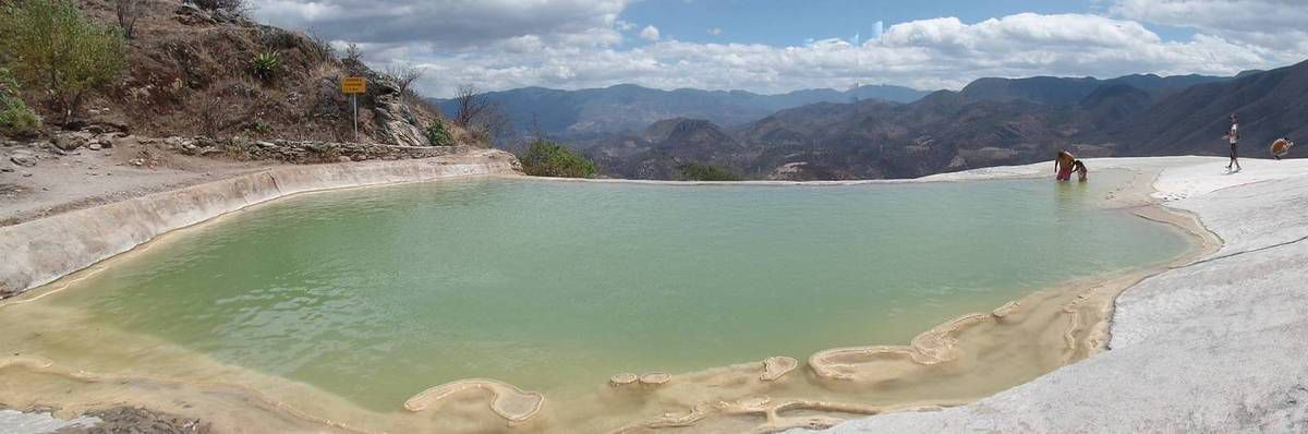 Oaxaca - Hierve El Agua - Monte Alban