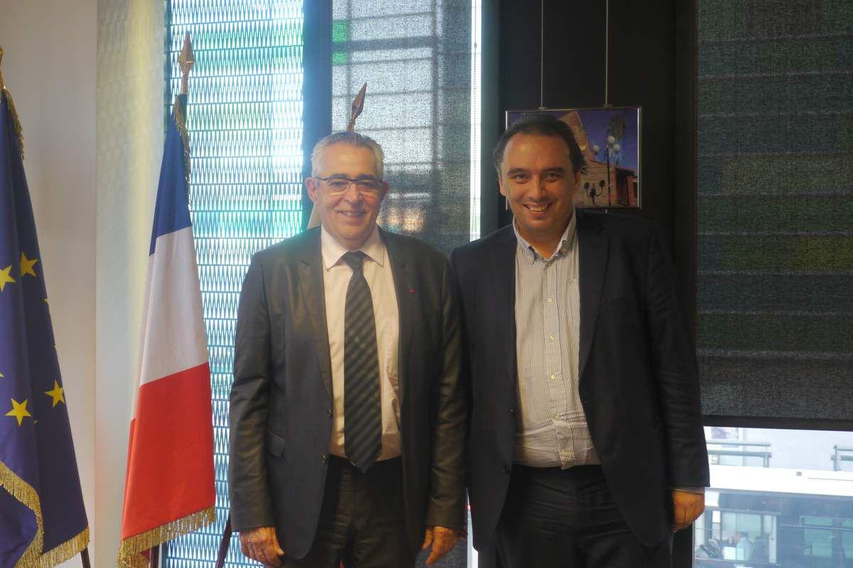 Jean-Marc Pujol et Guillaume Delbar