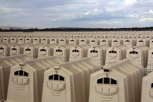 """Chaque """"cercueil"""" est un lieu de vie pour les veaux, le seul avant l'abattoir&#x3B;"""