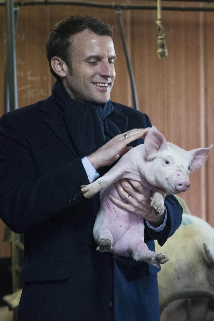 Macron au salon de l'agriculture, le RV des politiques et de la beaufitude impitoyable.