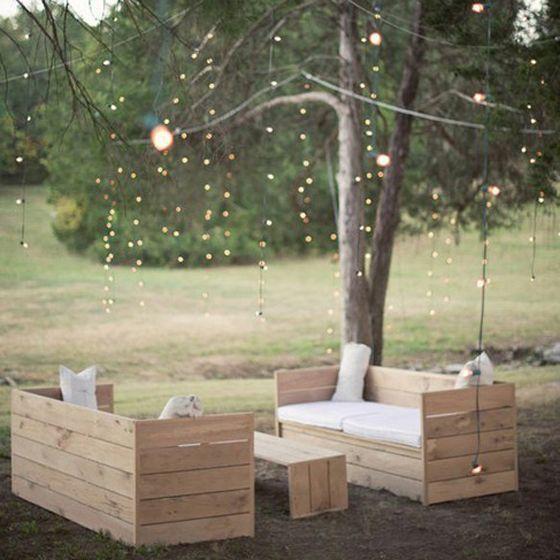 Inspiration pour un salon de jardin (un peu) bohème