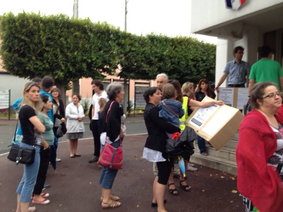 26 juin 2014 &gt&#x3B; Intervention des parents lors du Conseil municipal