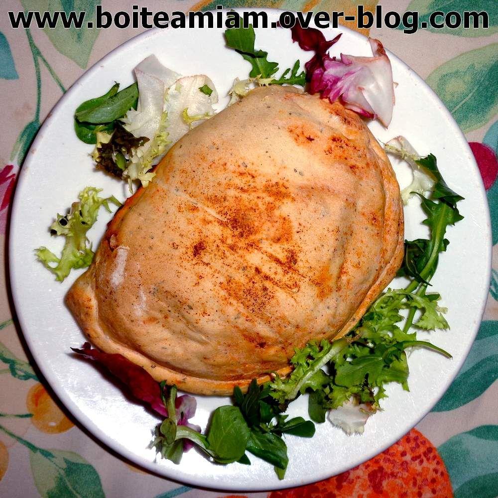 Empanadas aux légumes