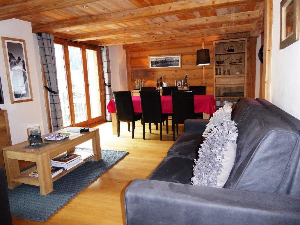 Appartement &quot&#x3B;Le Savoy&quot&#x3B; / Argentière/3 chambres/internet illimité/tout sans voiture