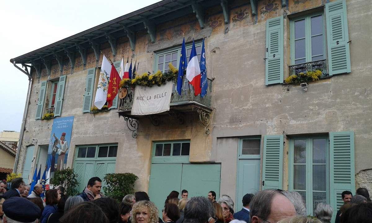 Inauguration de la Maison Francine GAG