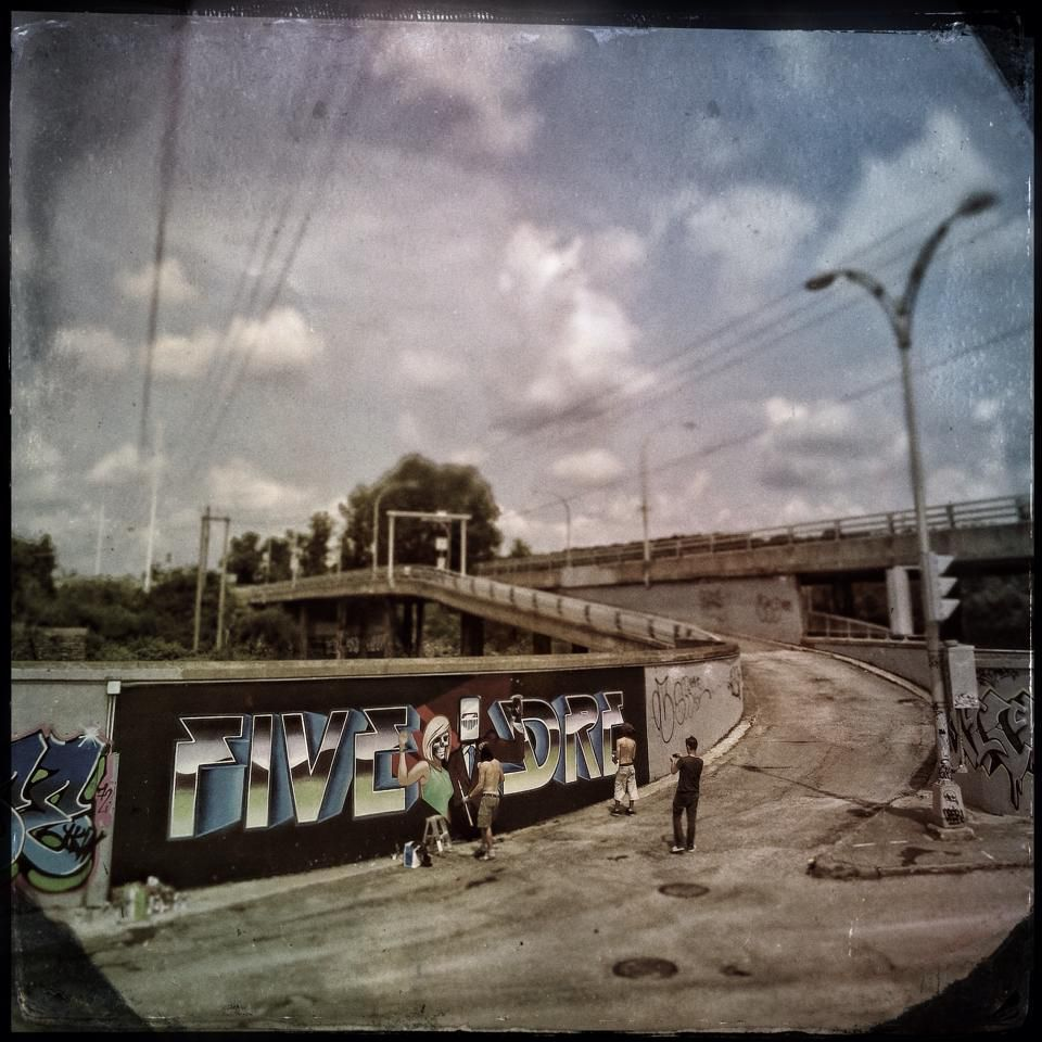 Amalgam festival d'art urbain de Sherbrooke