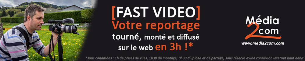 """""""Fast Vidéo"""" une des nombreuses solutions pour booster votre audience en réalisant des contenus réactifs !"""