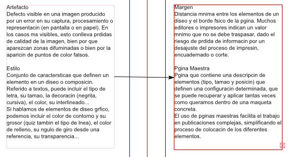 Scribus 8: Enlazado de marcos de texto