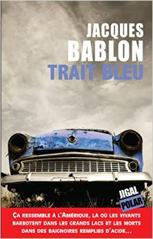 Trait bleu, de Jacques Bablon