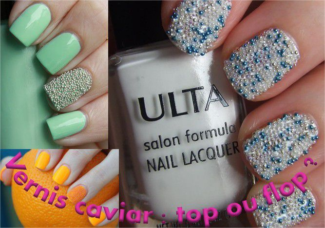 Nail art caviar: top ou flop?