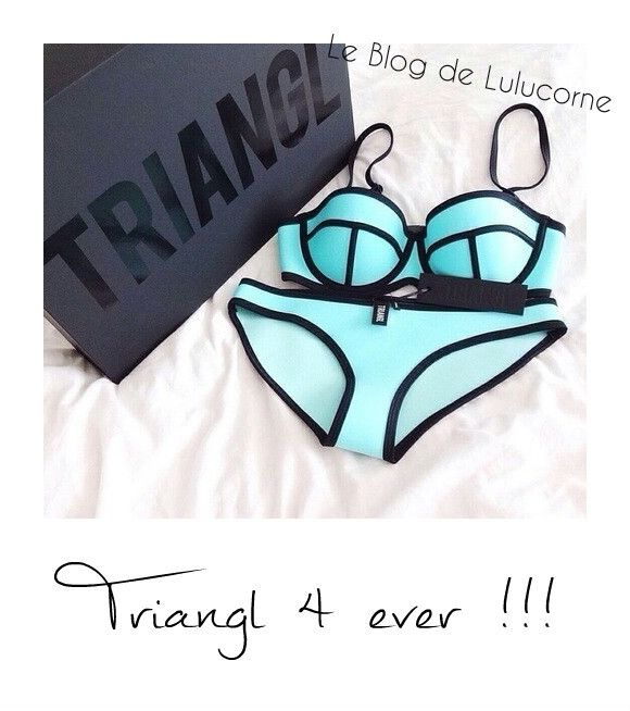 Les maillots Triangl