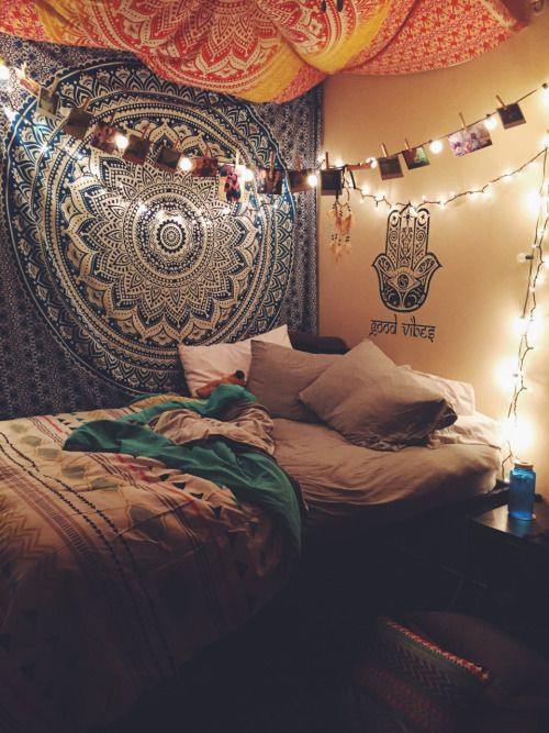 10 l ments pour une chambre inspiration tumblr evil for Cuartos hippies