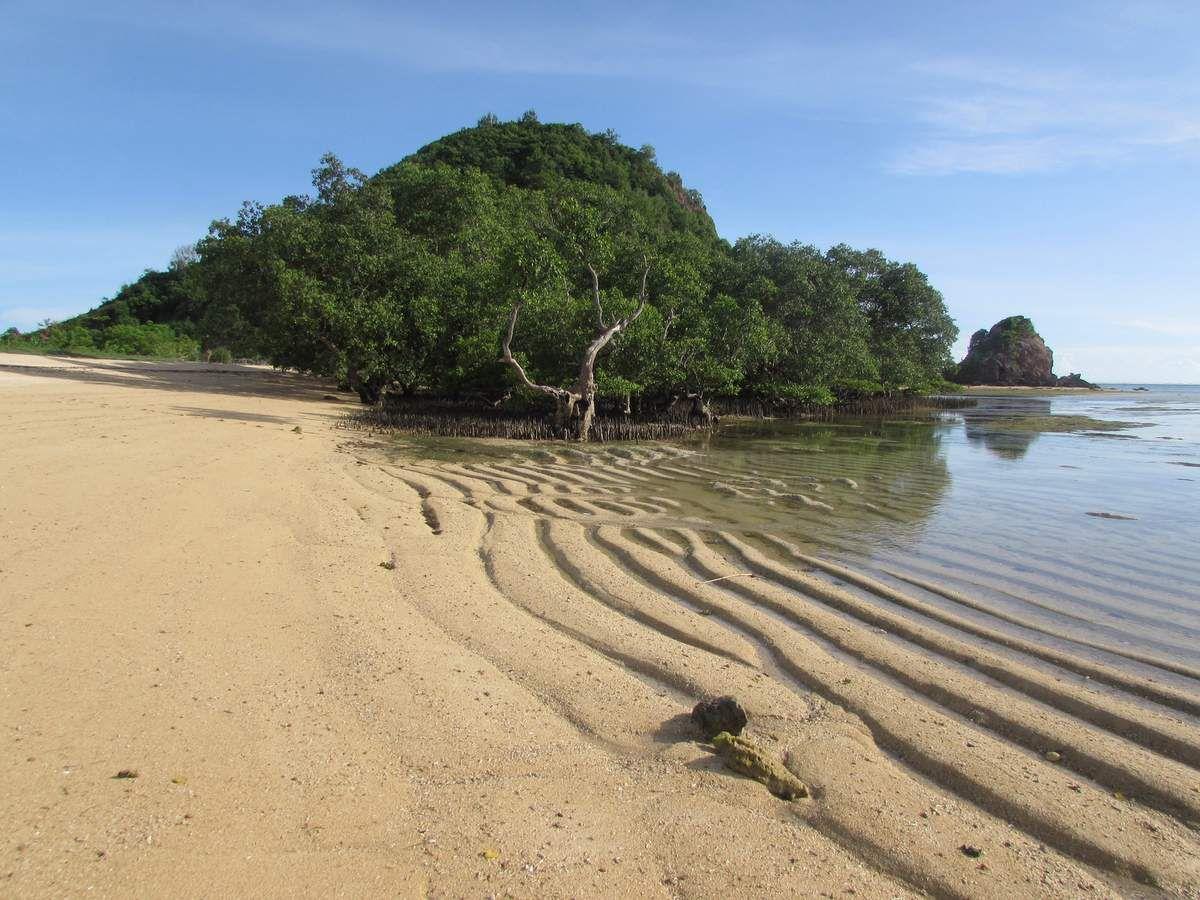 Lombok, une émeraude dans la stratosphère.