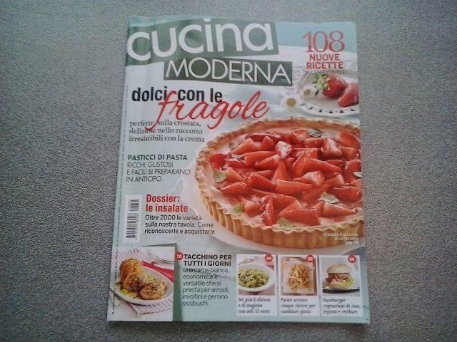 Rivista di cucina &quot&#x3B;Cucina Moderna&quot&#x3B; (Mondadori)