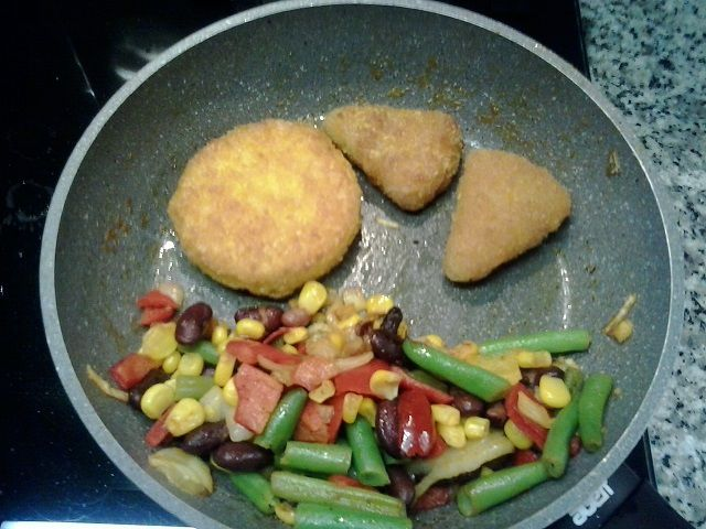 Seasoned mixed vegetables, Tex Mex sweet corn &amp&#x3B; chili, Corn Burger e Vegetable Wraps di &quot&#x3B;El Tequito&quot&#x3B; (Lidl) - Deludenti...