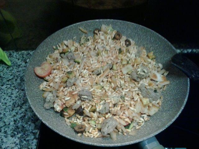 Gyros Rice Dish di Eridanous (da Lidl)