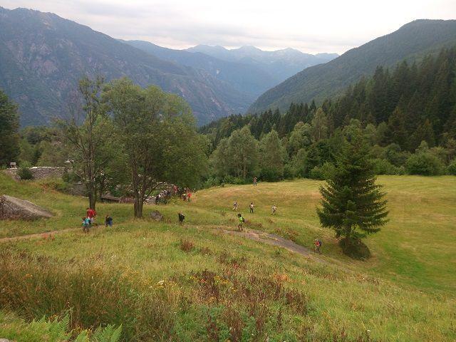 Dalla frazione Foppiano di Crodo all'Alpe Deccia per l'appuntamento di Musica in Quota con l'orchestra GMO (Giovani Musicisti Ossolani)