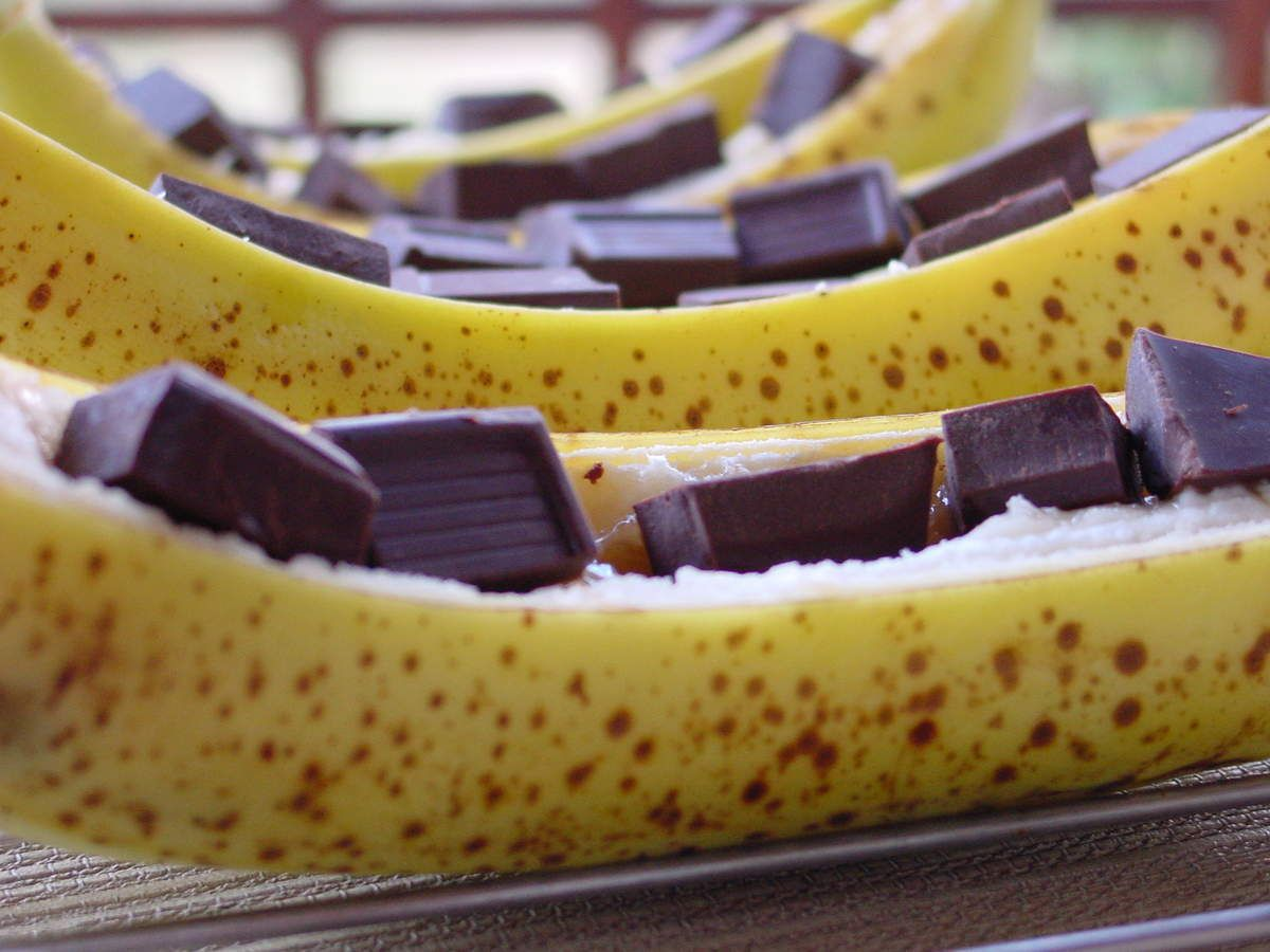 banane au chocolat la blogueuse dreaming