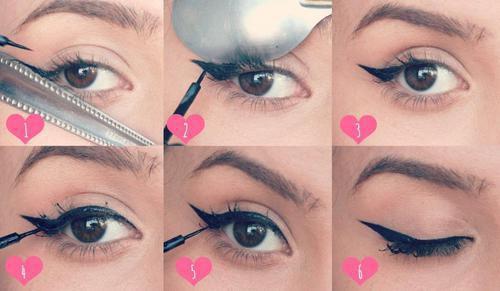 Astuces pour tracer un trais d'eye liner