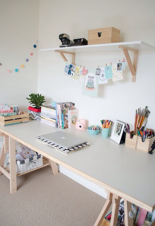 Faire un jolis coin bureau la blogueuse dreaming for Bureau en coin