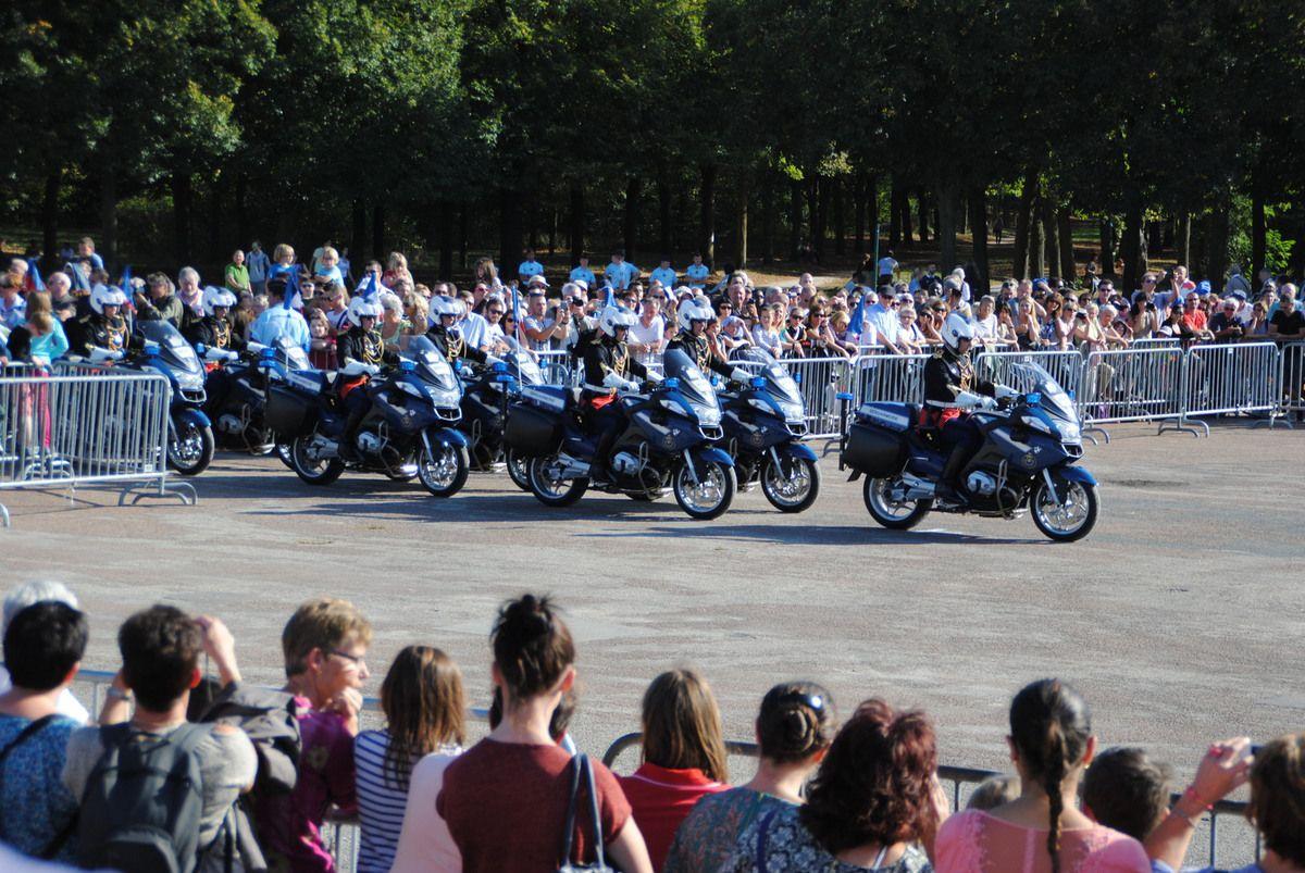 Carrousel motocycliste