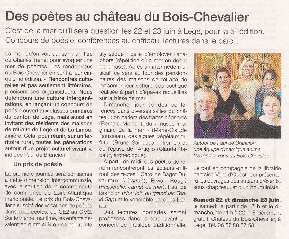 Ouest-France - 14 juin 2013